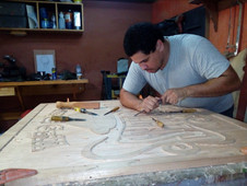 Jorge Morales: Rótulos en Madera y mucho más