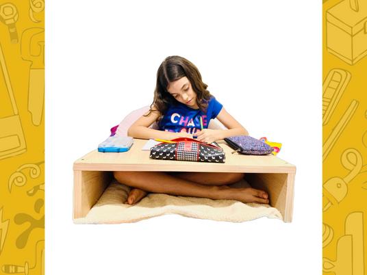 Mesa para la cama de 60 x 45 cm