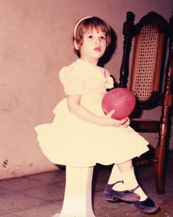 En la piñata de mi prima Arlene...