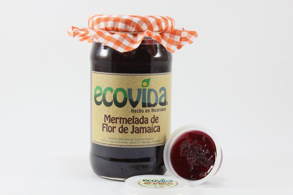 flor de jamaica EcoVida Nicaragua mermelada