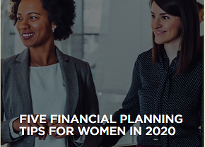 5 financial planning tips for women in 2