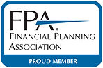 Financial Planning Association Proud Member- Financial Advisor Parkland