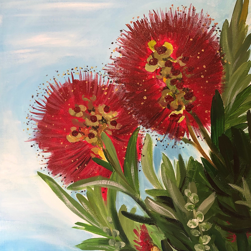 Bottlebrush Beauties - Paint & Sip