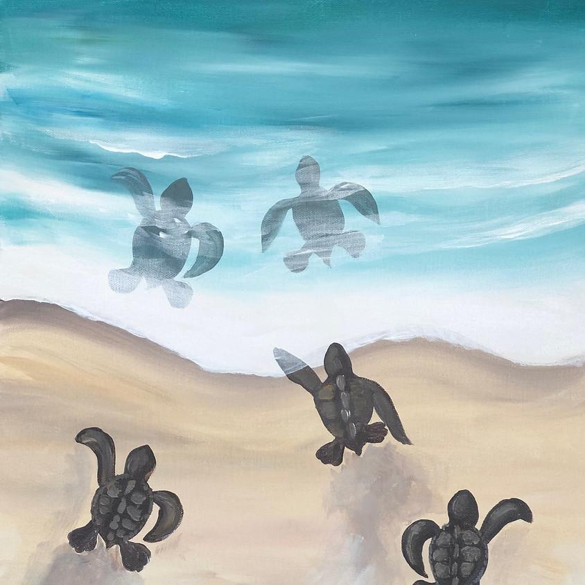 Turtle Tracks - Paint & Sip