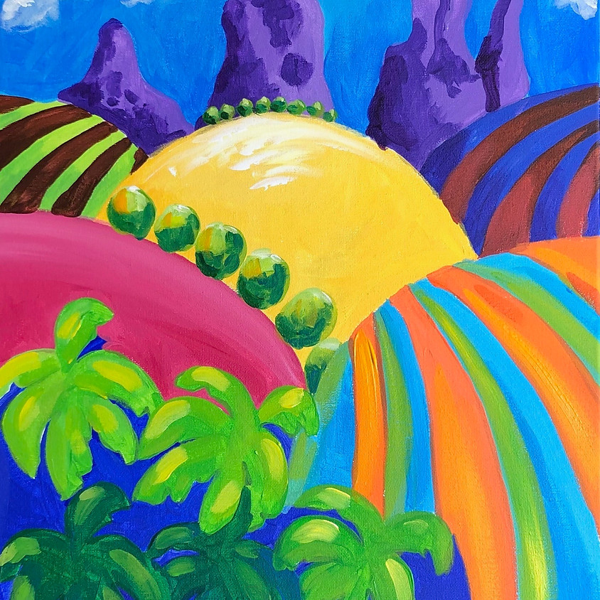 Vivid Hinterland - Paint & Sip