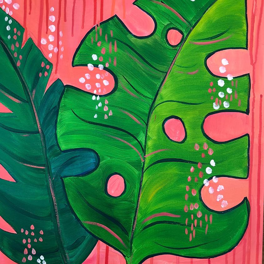 Jungle Serenity - Paint & Sip