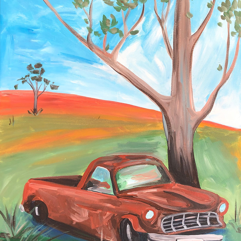 Rusty Outback - Paint & Sip