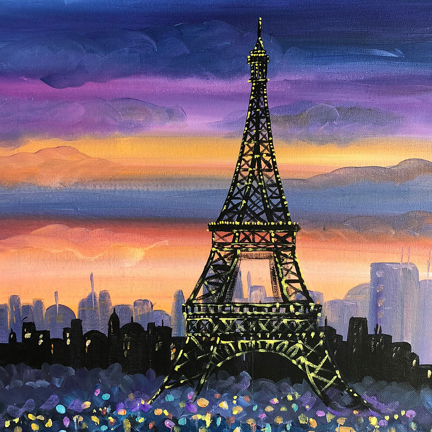 Eiffel Tower - Paint & Sip
