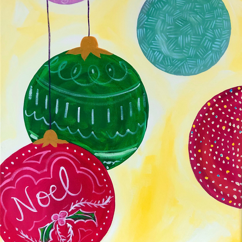 FAMILY PAINT -  Christmas Baubles