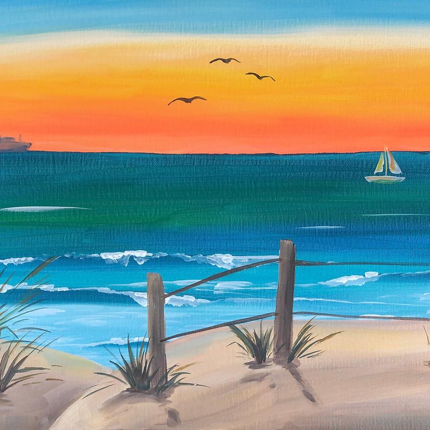 Beach Scene - Paint & Sip