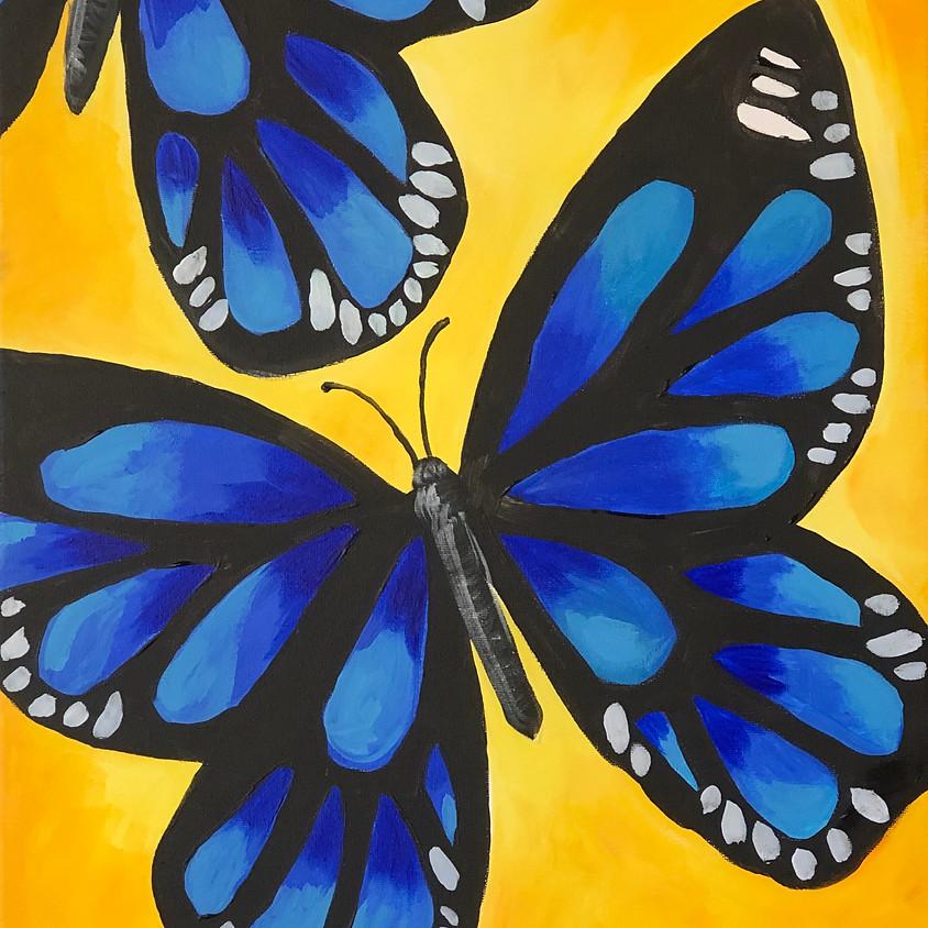 Blue Tiger - Paint & Sip
