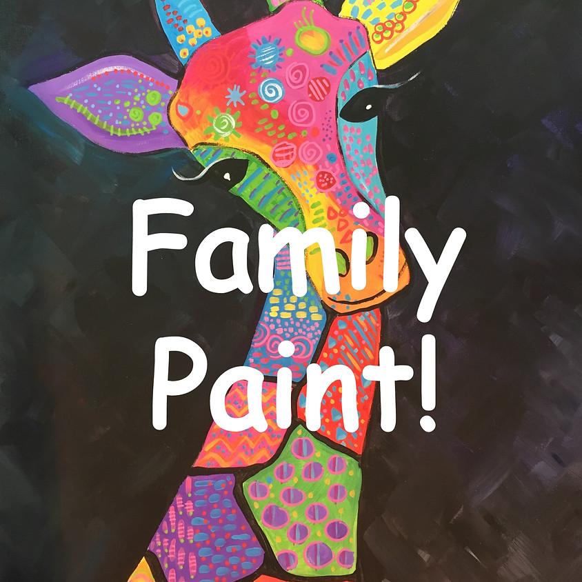 FAMILY PAINT - Gerald Giraffe