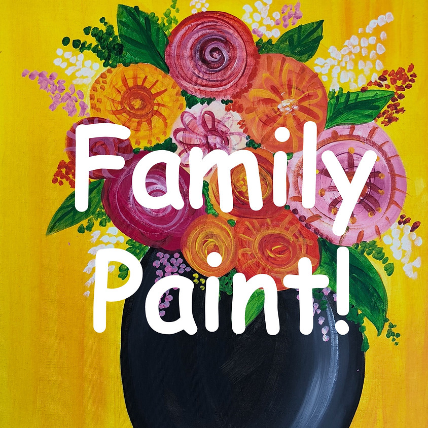 FAMILY PAINT - Beautiful Blooms