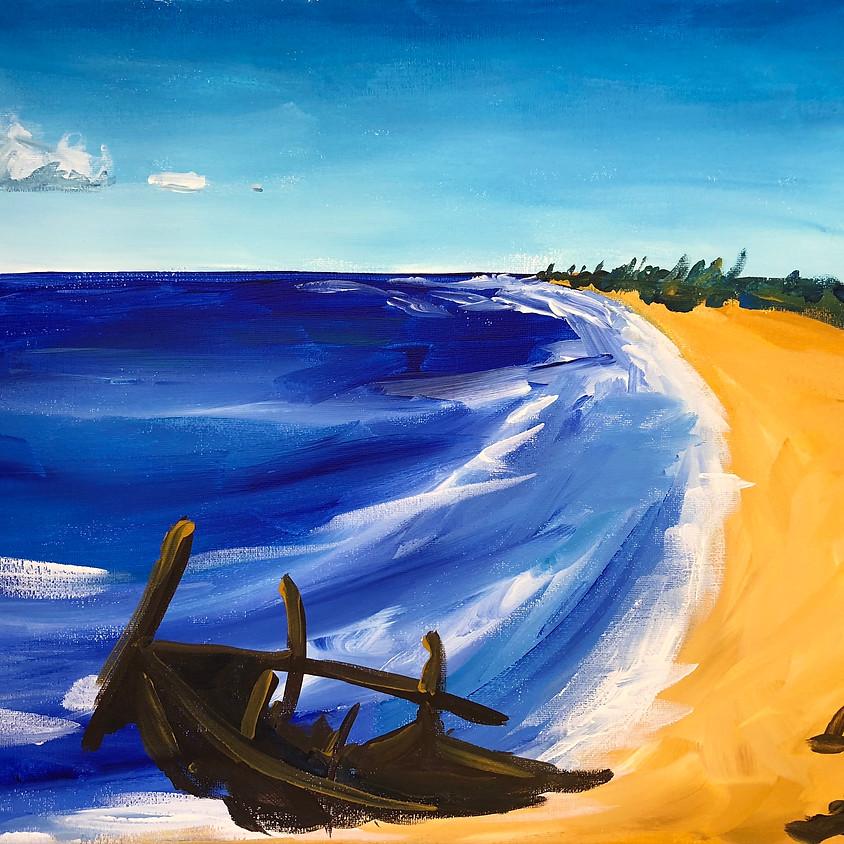 Dicky Beach - Paint & Sip