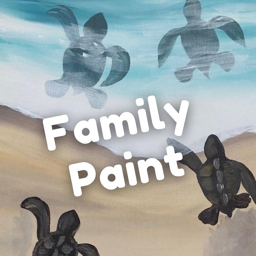 FAMILY PAINT - Turtle Tracks