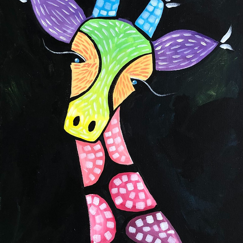 Gerald Giraffe - Paint & Sip