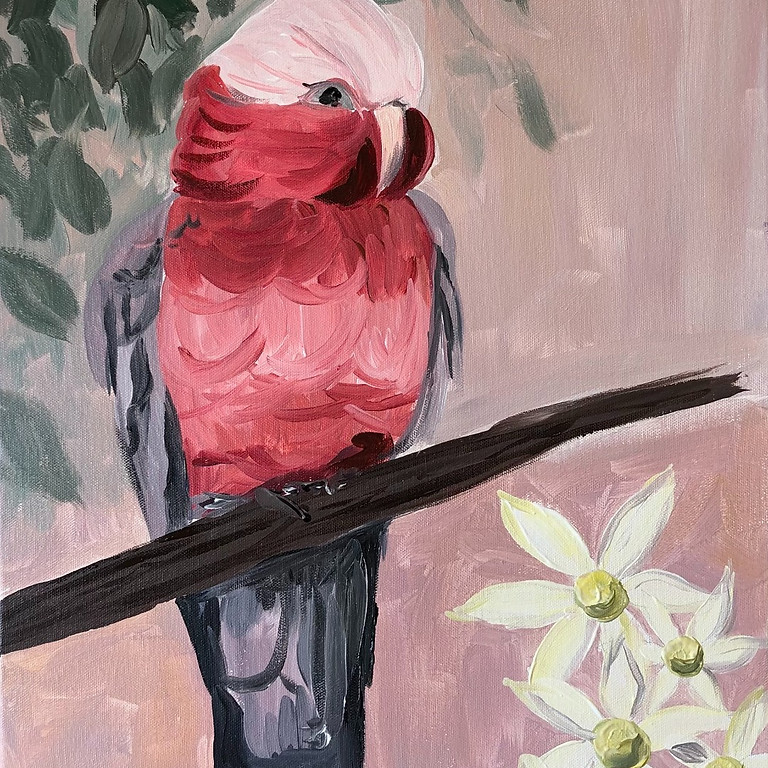 Rosie Galah - Paint & Sip