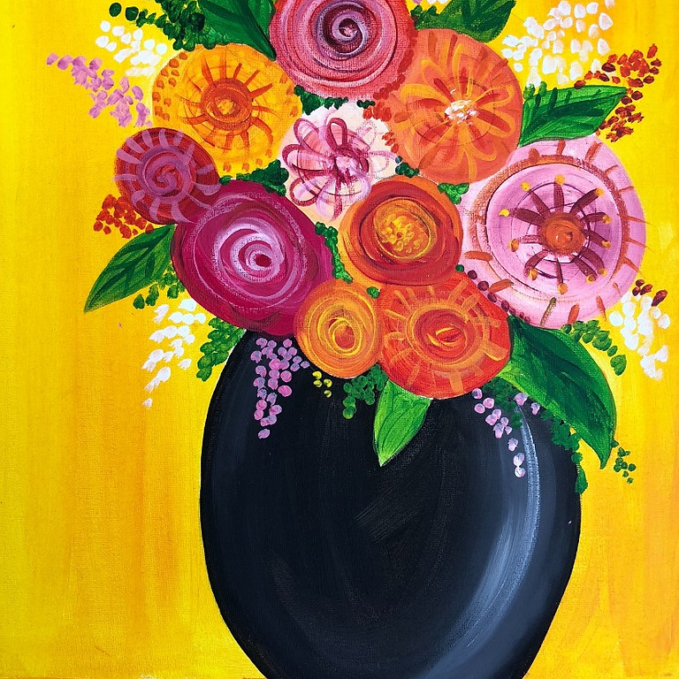 Beautiful Blooms - Paint & Sip