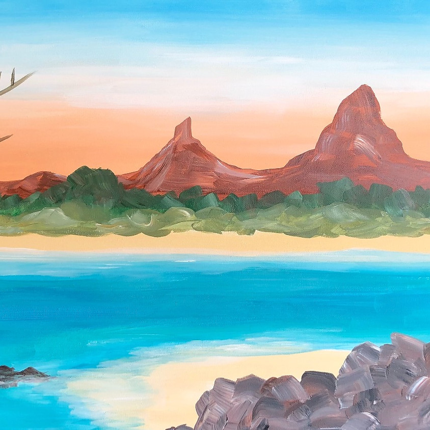Glass House Mountains - Paint & Sip