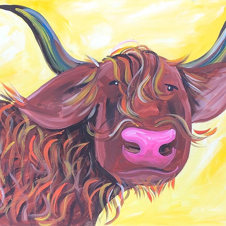 Scruffy Hamish - Paint & Sip