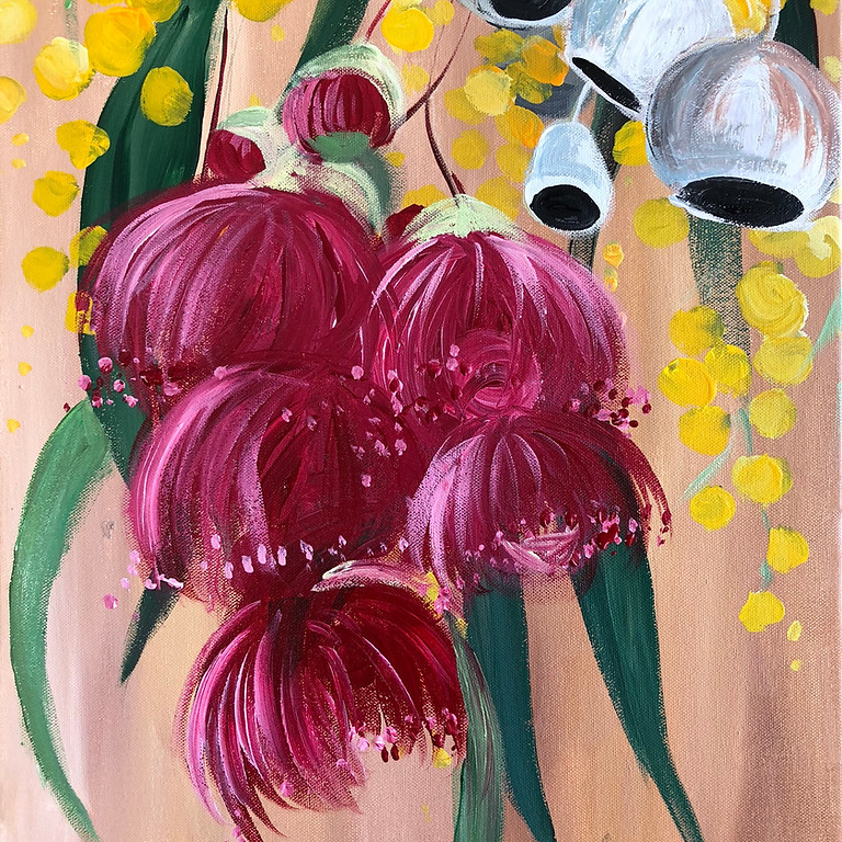 Native Blossoms - Paint & Sip