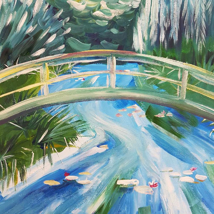 Monet's Garden - Paint & Sip