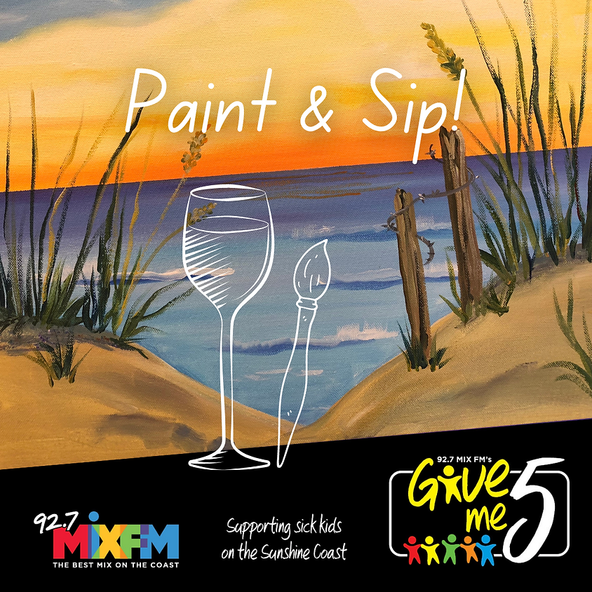 Give me 5 - Paint & Sip Charity Event