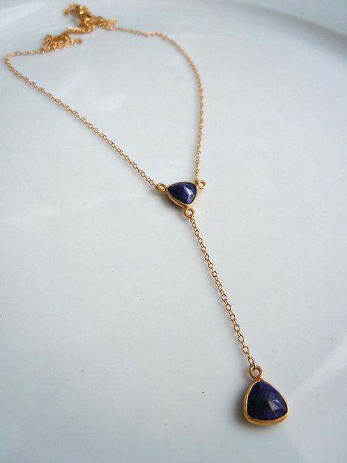 Lapis Lariet-style Necklace
