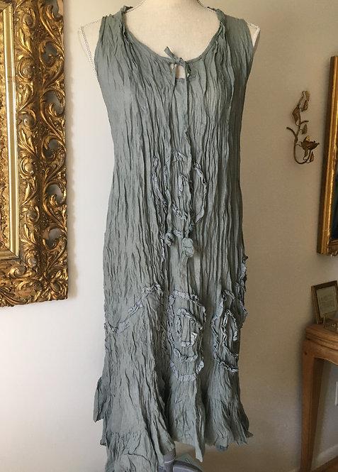 Pewter Applique Dress