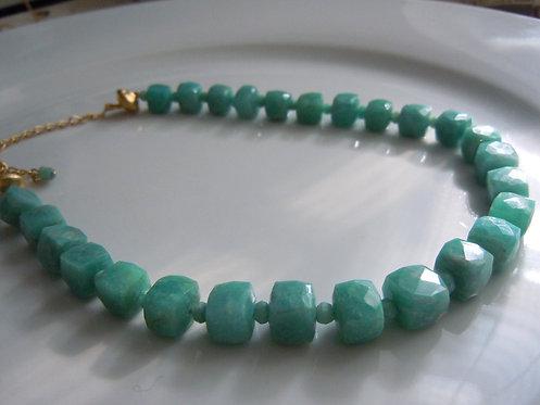 Amazonite Collar Necklace