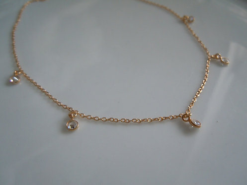 Sweet Faceted Quartz Necklace