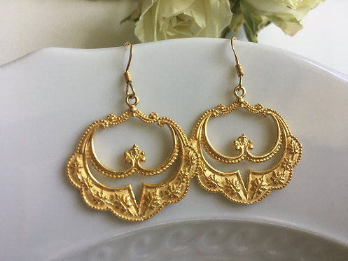 Mughal Indian Design Earrings