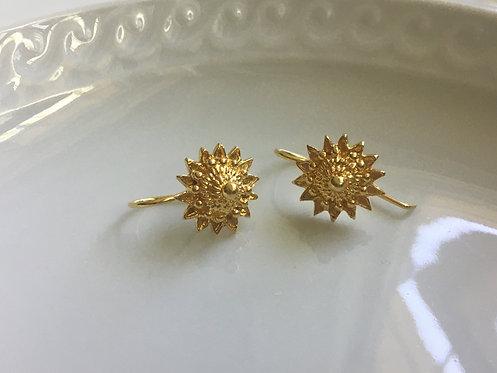 Ancient Rajasthani-inspired Sunburst Earrings