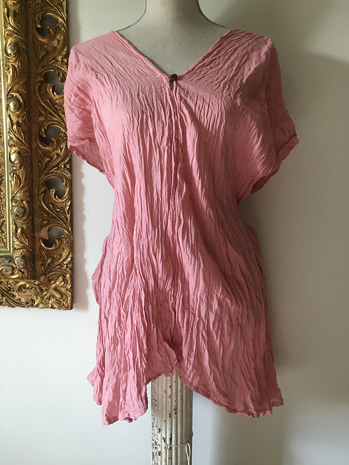One Button Top / Cover-Up