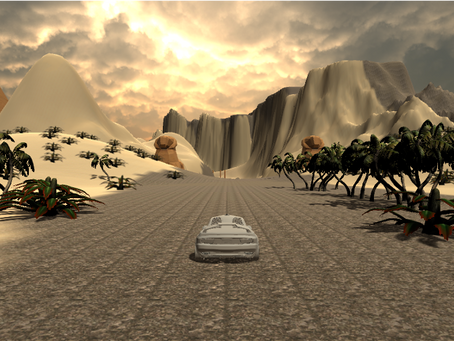 An update on the multiplayer racing game I'm designing.
