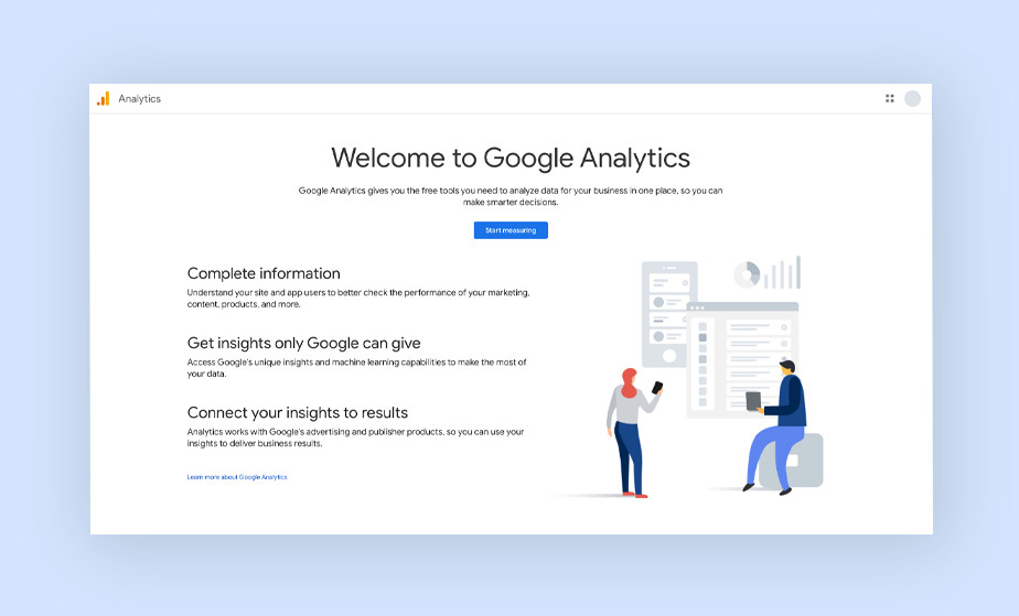 Market segmentation: Google Analytics