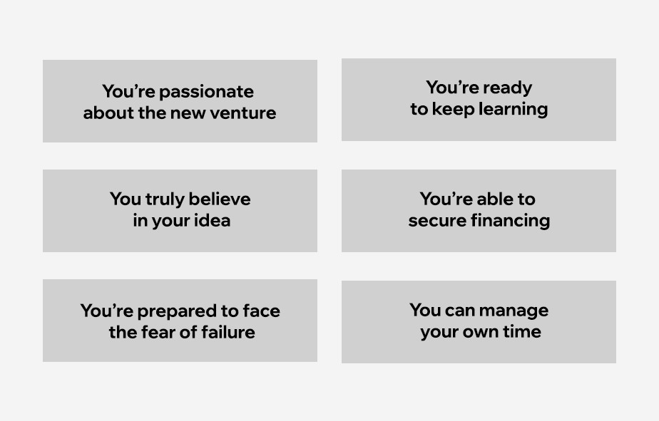 The ways to tell that you're ready to start a business