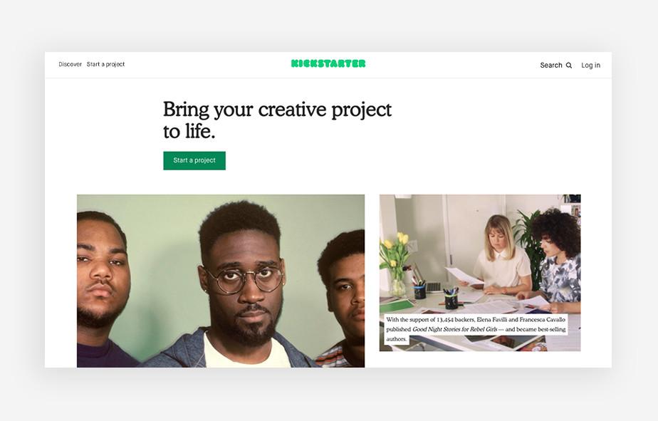 Kickstarter for your business