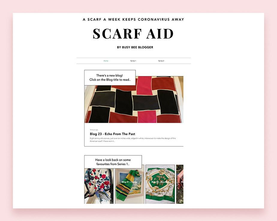 Scarf Aid personal blog