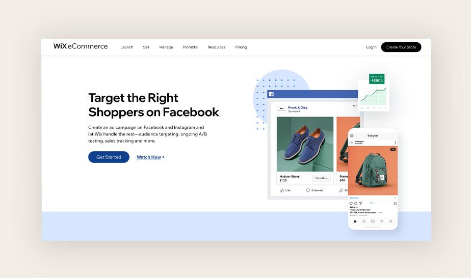 Market segmentation: Facebook campaign ad