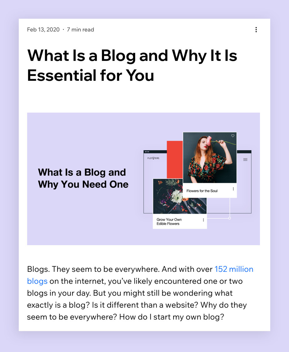 Expanded definition blog post template