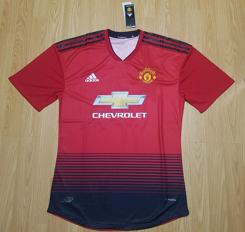 afc263ffa Show your pride and support for the Red Devils in the Adidas Manchester  United F.C 2018 2019 Jerseys.