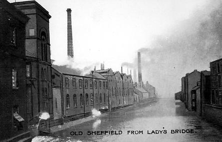 Old Sheffield From Ladys Bridge.tif
