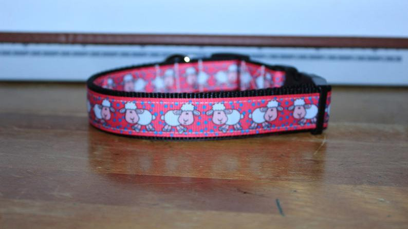 PINK SHEEP Plastic Buckle