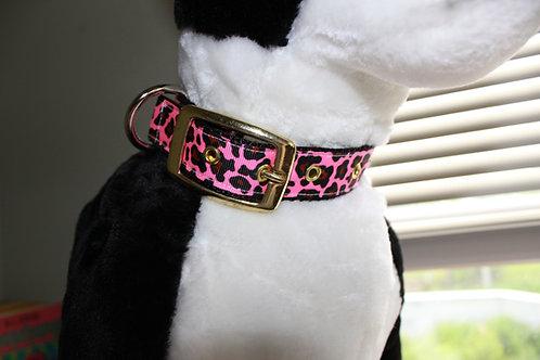 1 inch wide Metal Belt Buckle Collars