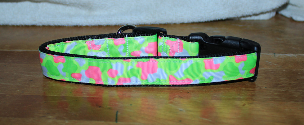 Pink, Yellow Green, Camo