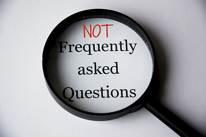 NOT frequently asked questions