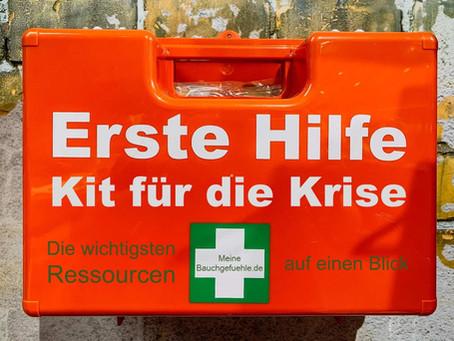 Erste Hilfe Kit für die Krise - Die wichtigsten Ressourcen auf einen Blick