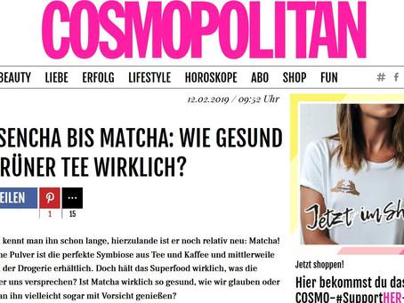 Im Gespräch mit Cosmopolitan.de – Wie gesund ist grüner Tee wirklich?