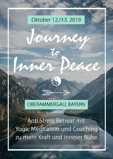 Journey To Inner Peace Flyer